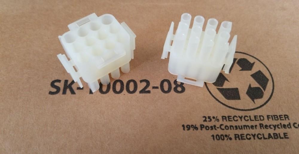 NYLON PLUG MOLEX 50-84-1020 PLUG /& SOCKET HOUSING 10 pieces